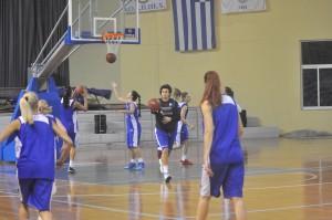 Το ζέσταμα ξεκίνησε! Καλή επιτυχία Ελλάδα!